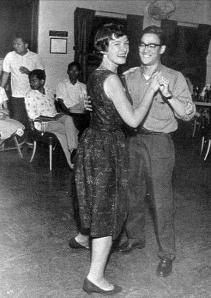 Bruce Lee dancing