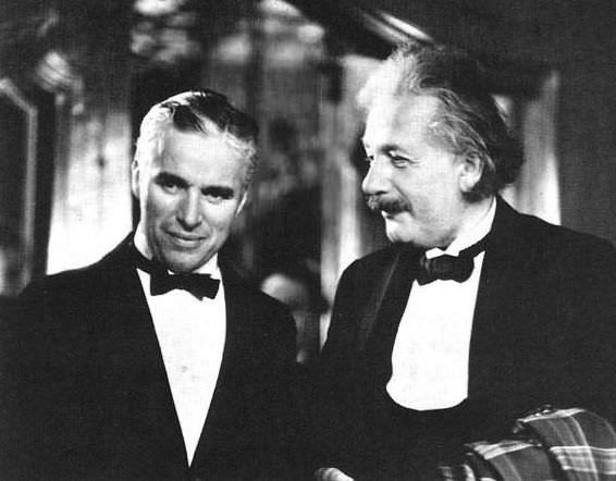 Chaplin and Einstein