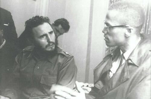 Fidel Castro and Malcolm X 60